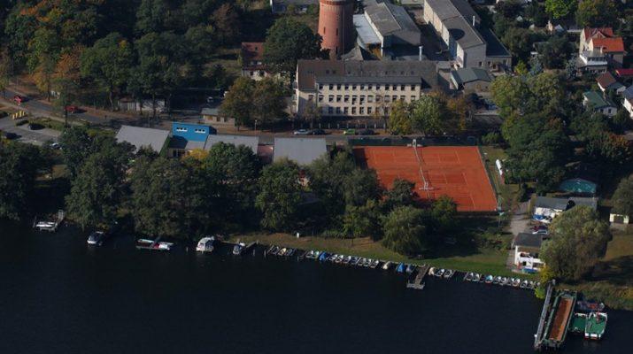 unsere Tennisanlage am Lehnitzsee