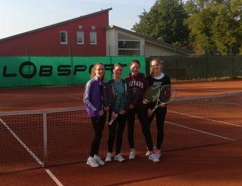 U18 Mädels mit erstem Punktspiel